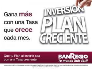 Inversión Plan Creciente de Banregio